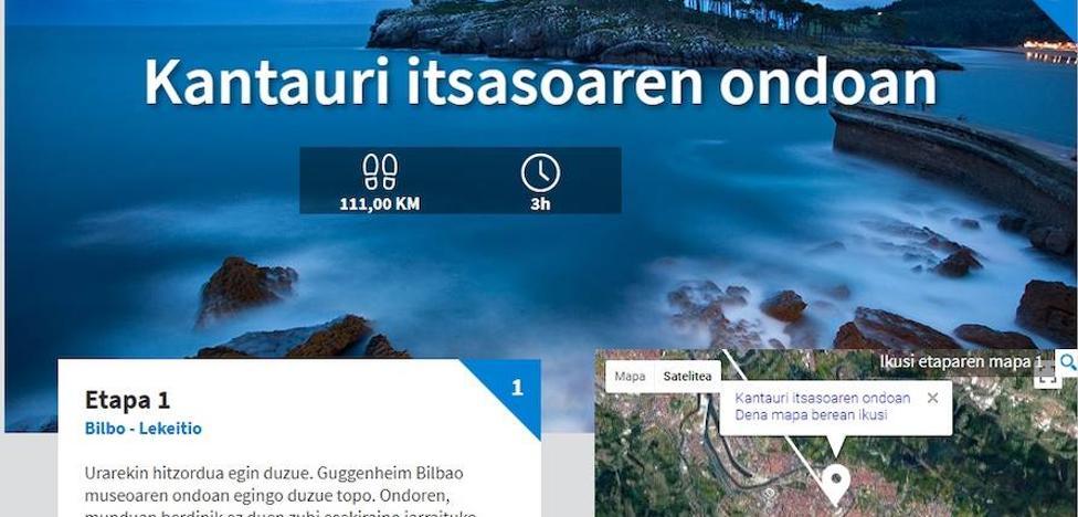 849 kilometro eta zazpi etapa Euskadi hobeto ezagutzeko