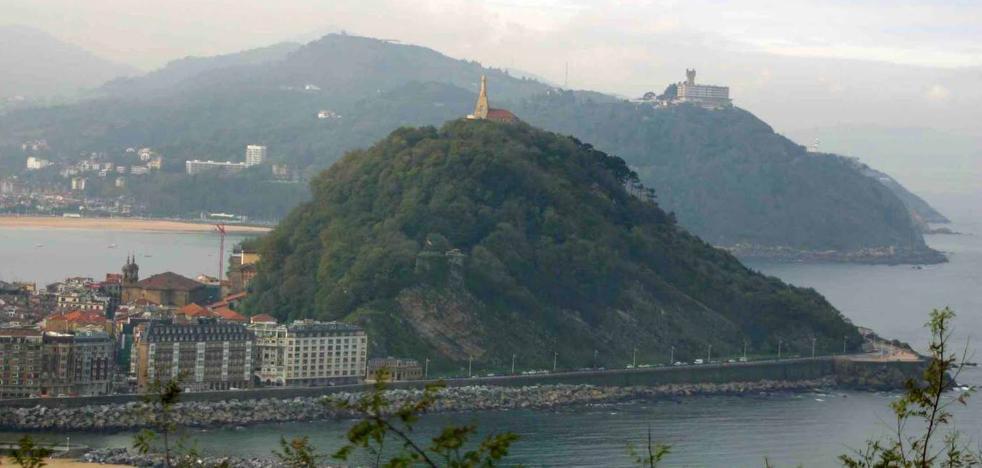 El Ayuntamiento de San Sebastián condena la presunta agresión sexual en el monte Urgull