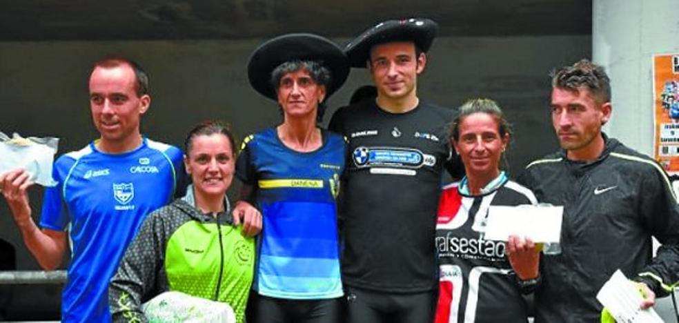 El andoaindarra Jon Ugalde Elola, primer atleta en el cross Subida a San Roke