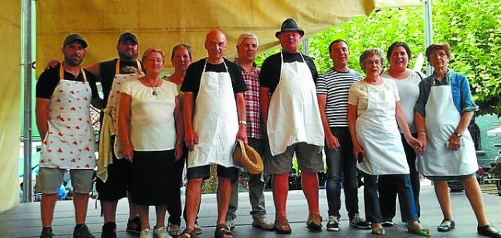 Carrasco y Cobos, premio doble en el concurso de tortillas