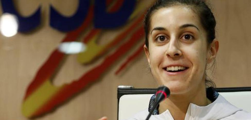 Carolina Marín: «Tengo claro que voy a por el oro en el Mundial»
