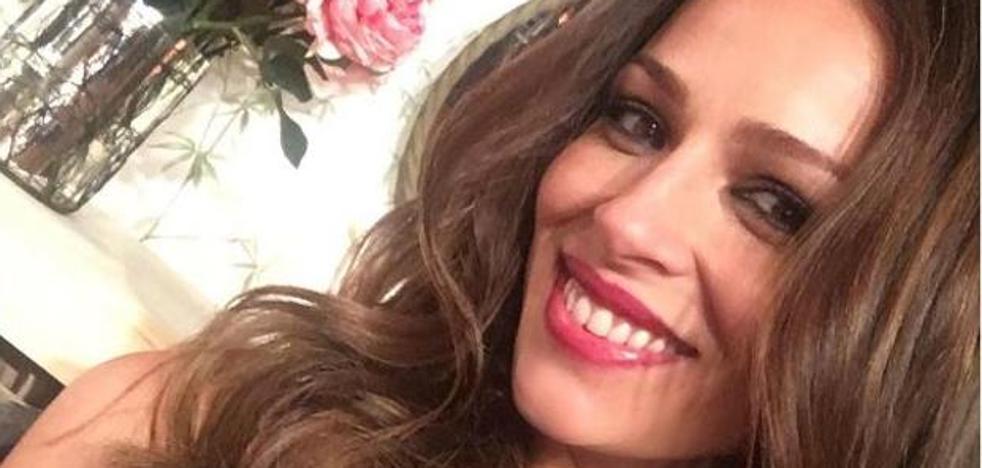 Eva González, pletórica