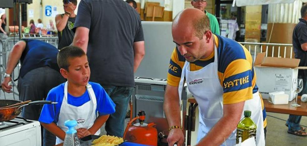 Larrun Arri reedita el concurso gastronómico intergeneracional