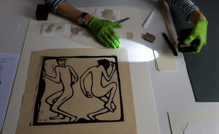 Arte que sobrevivió a la persecución nazi