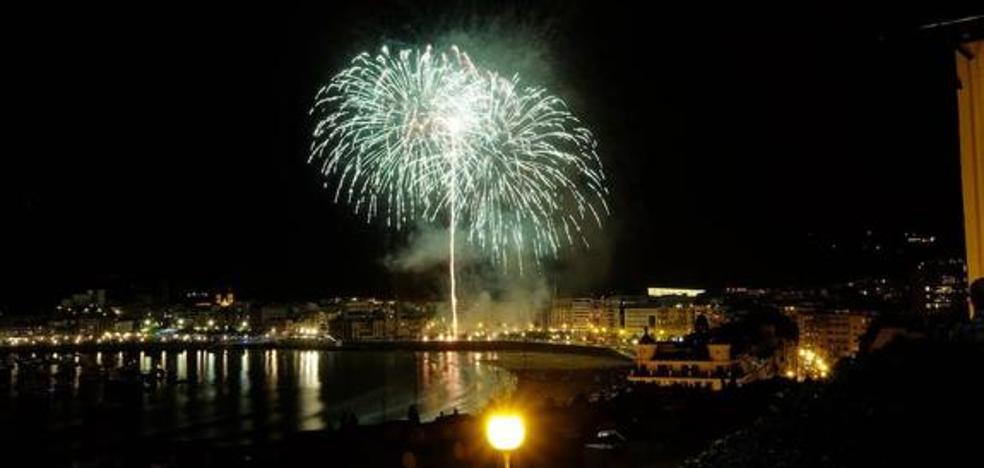 Fuegos con colorido y sonido de Galicia