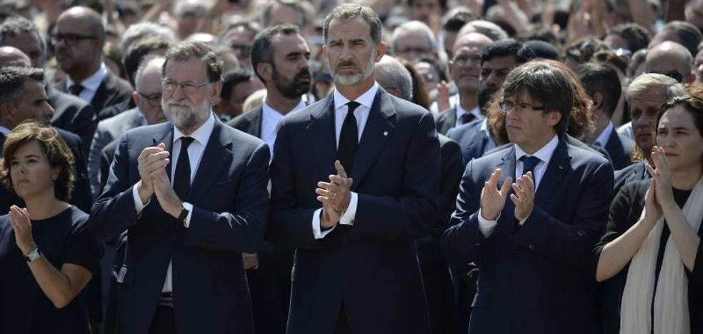 Barcelona responde a la barbarie: «No tenemos miedo»