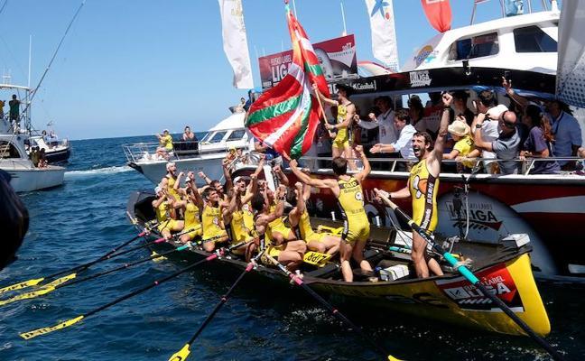 Orio se lleva la bandera de Zarautz; Hondarribia, los puntos