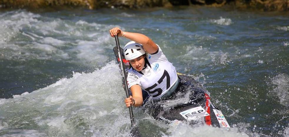 Miren Lazkano, campeona de Europa sub'23 de C-1