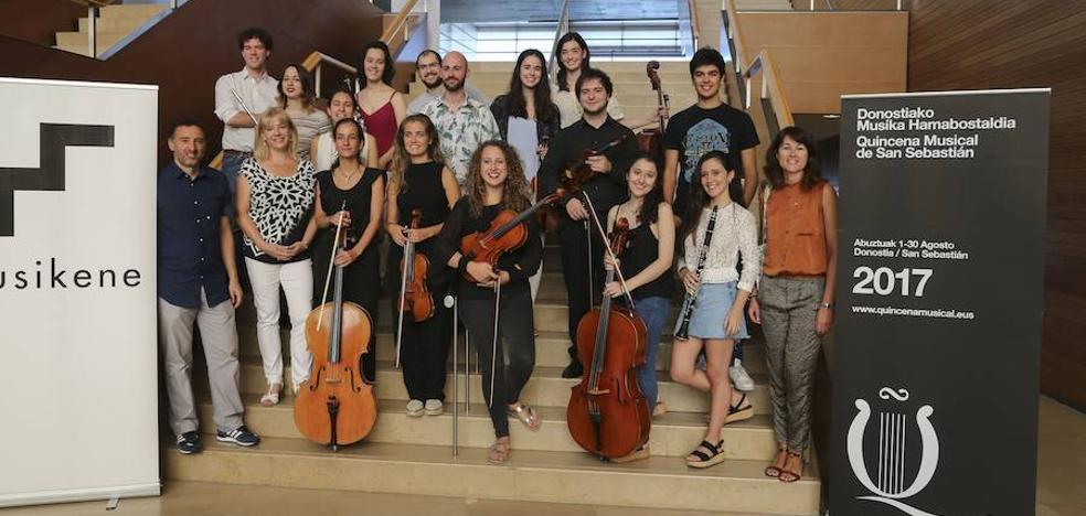 El Trío Amets abre la Semana de los Jóvenes Intérpretes