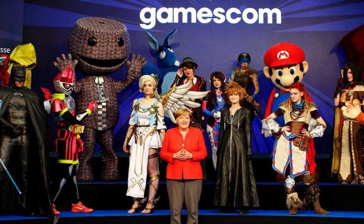 Gamescom abre sus puertas con la presentación de Angela Merkel