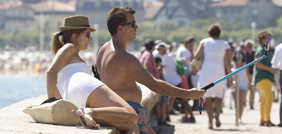 Aumenta la proporción de turistas extranjeros que se alojan en Gipuzkoa