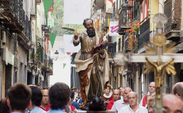 San Bartolomé da el testigo al Txiki