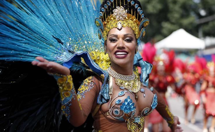 Color y diversión en el carnaval de Notting Hill