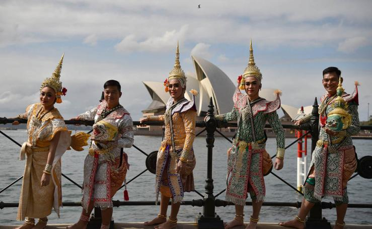 Danzas tailandesas en Sydney