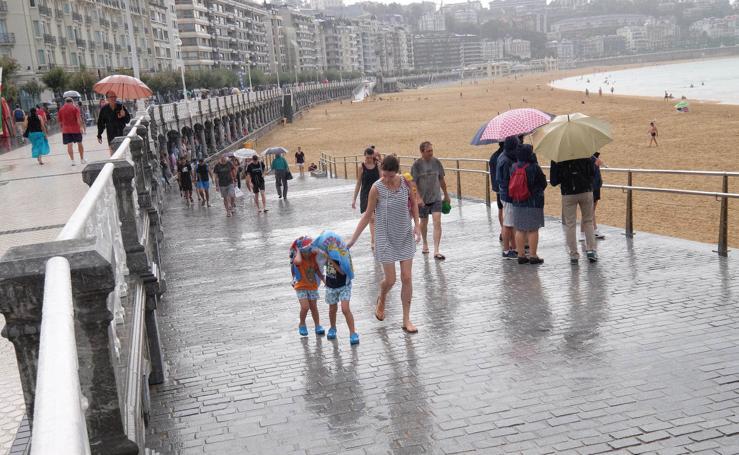 Activan para hoy el aviso amarillo por lluvia y tormenta