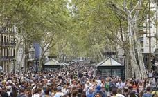 Barcelona no registra cancelaciones turísticas pese al atentado