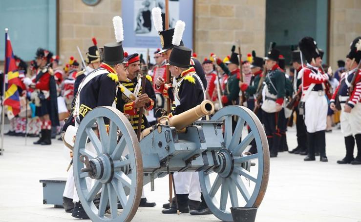 Donostia recrea su día más trágico