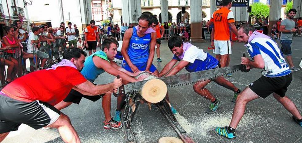 Campeonato de deporte rural entre cuadrillas para empezar