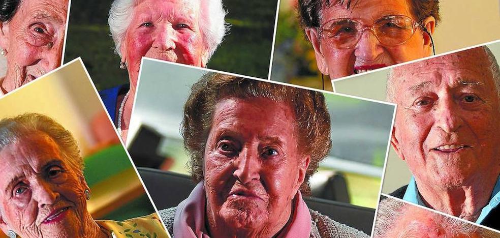 Gipuzkoa duplica su cifra de centenarios