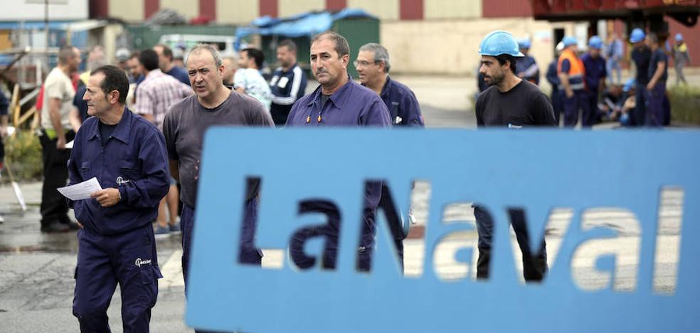 El comité de La Naval exige al Gobierno Vasco que «tome el control» del astillero