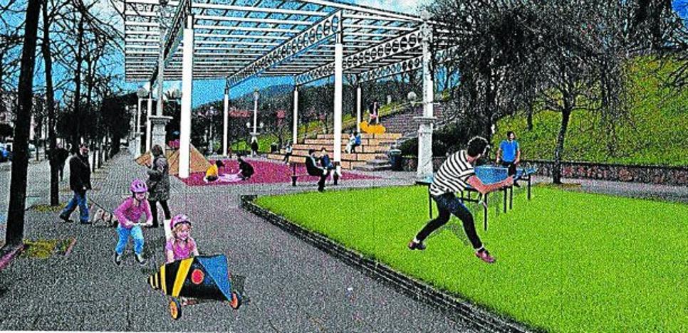 El Ayuntamiento adjudica la cubierta del parque de Harria de Altza