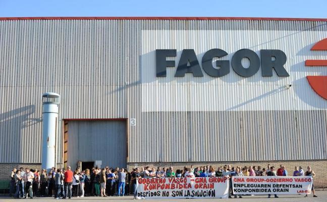Fagor-CNA despedirá a toda la plantilla salvo si acepta seguir con solo la mitad de trabajadores
