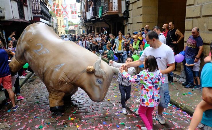 Fiestas con toros hinchables