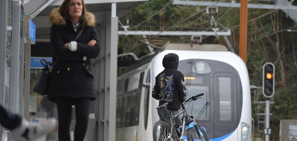 El Gobierno Vasco inicia estudios para avanzar en la conexión de tren entre Baiona y San Sebastián