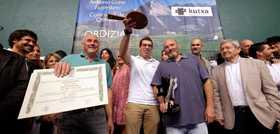 8.200 euros por el medio queso ganador en Ordizia