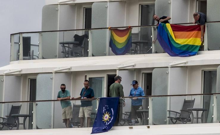 Un crucero con 2.600 gays en Euskadi