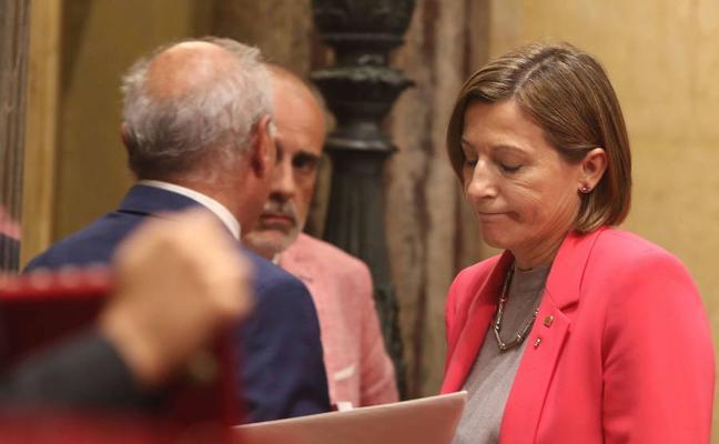 El Constitucional rechaza la recusación de Forcadell contra sus magistrados