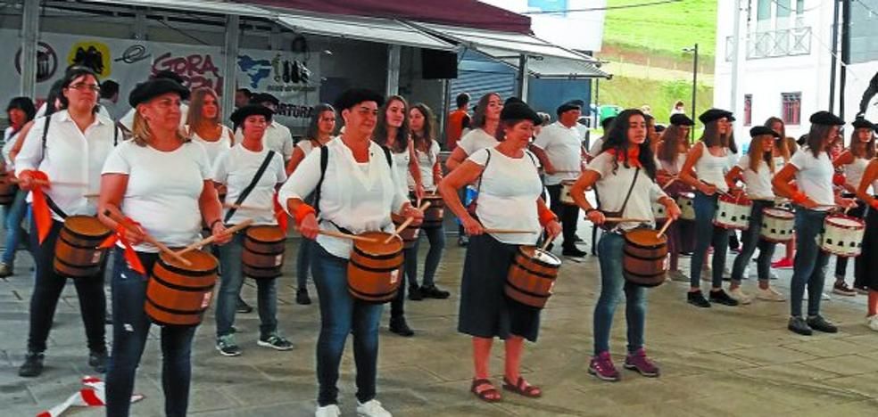 Zizurkil celebra sus fiestas a buen ritmo