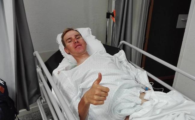 Mamykin se fractura la pelvis y quedará ingresado cuatro días