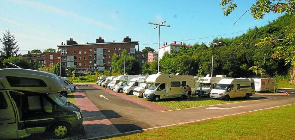 Caravanas al alza en Donostia