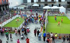Muy buen ambiente en la Futbol Festa de 3x3