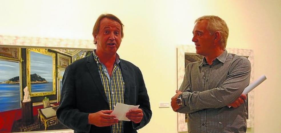 Inaugurada la exposición 'Revisionismo Palaciego', de Eduardo Laborde