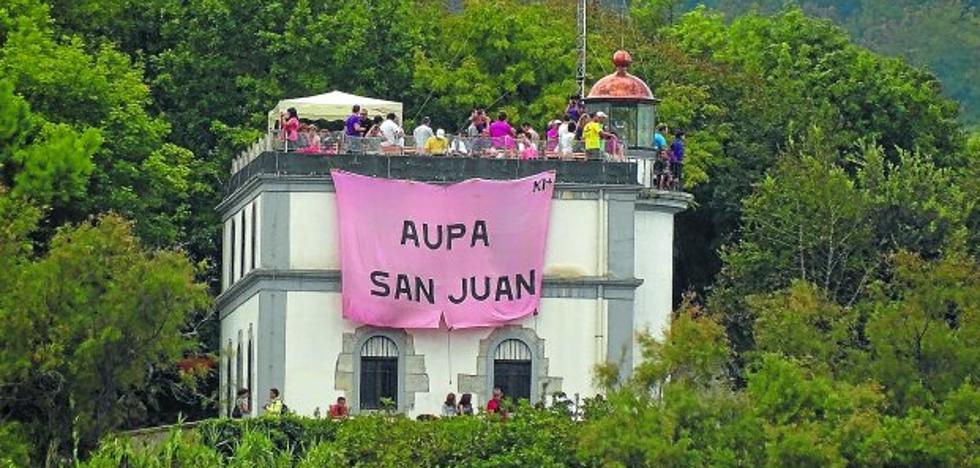 El mal tiempo impedirá que la bandera rosa ondee en el faro