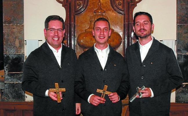 Tres nuevos jesuitas pronunciaron sus primeros votos en Loiola