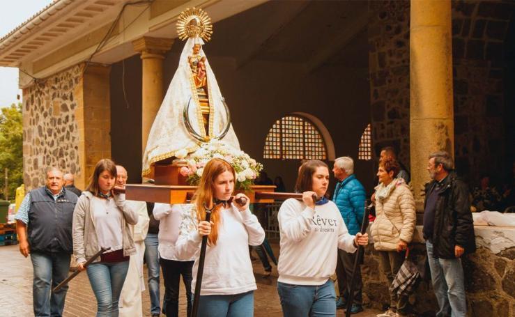 Día de la Virgen de Arrate en Eibar
