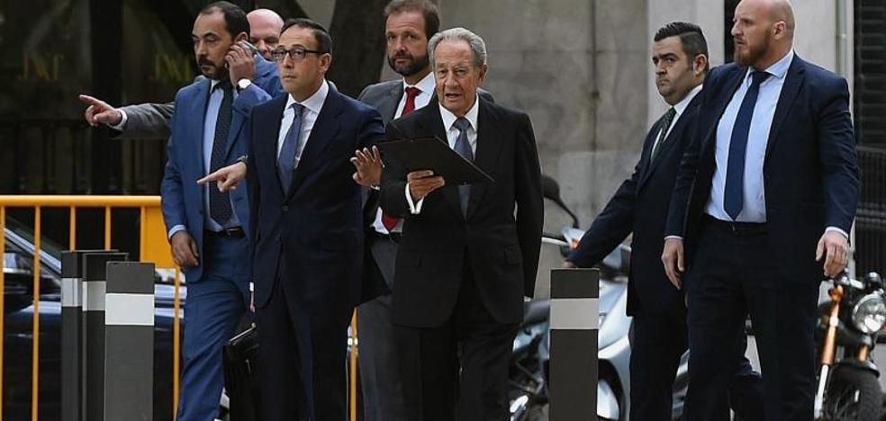 Villar Mir declara desconocer un supuesto pago a Ignacio González