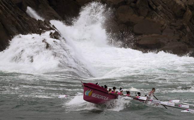 Ane Arbillaga: «En la regata viví nuevas sensaciones: impresión, miedo...; fue terrible»