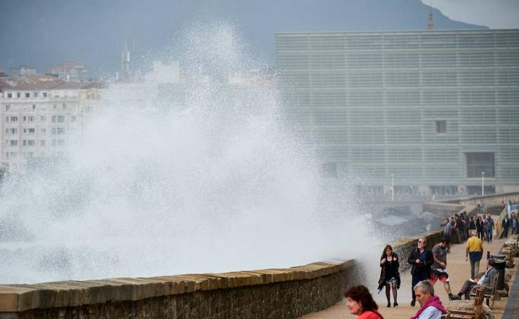 Mareas vivas en San Sebastián