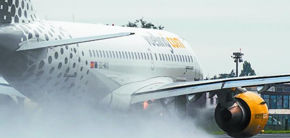 Hondarribia crece mientras suma ya 28 vuelos desviados