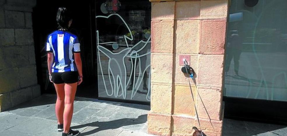 El Ayuntamiento instala una anilla de parking para perros
