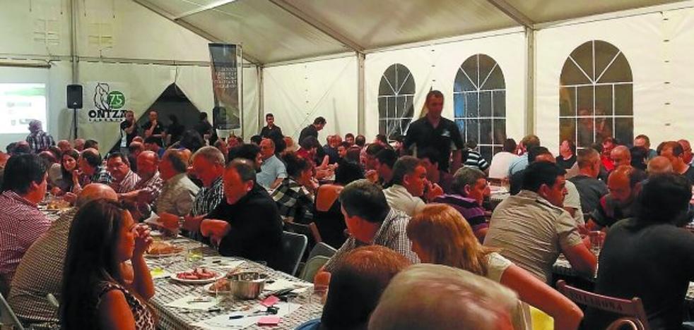 El concurso de sidra natural llegará este viernes a Ontza elkartea