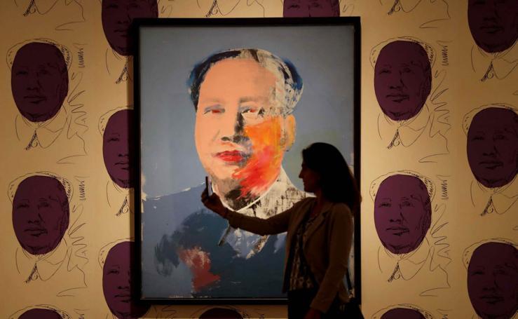 El auténtico Warhol, en Barcelona