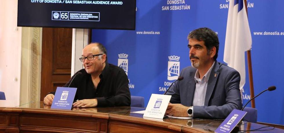 El Ayuntamiento patrocinará el Premio del Público Ciudad de San Sebastián del Zinemaldia con 80.000 euros