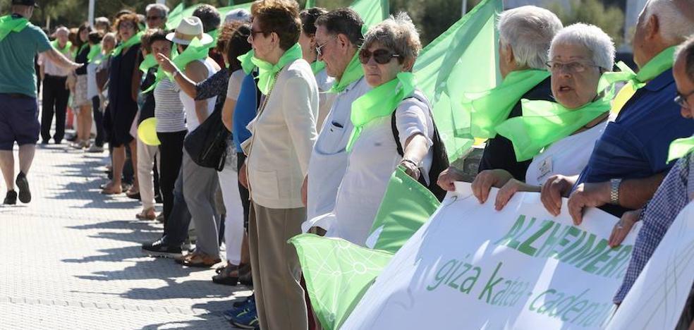 El Día del Alzheimer en Gipuzkoa pondrá el foco en la persona y no en el enfermo