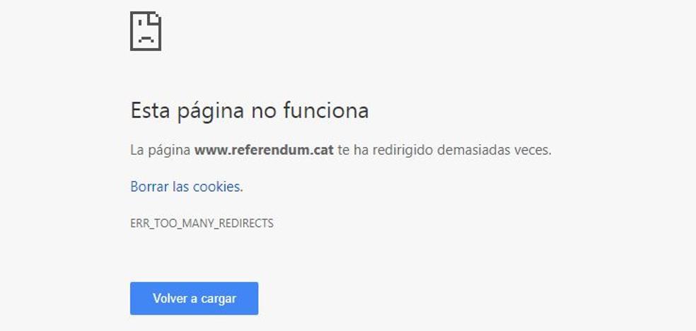 Un juez cierra la web del referéndum y el Govern abre otra alternativa