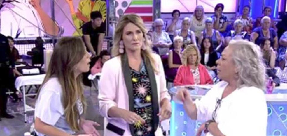 Anabel Pantoja y Carmen Gahona casi llegan a las manos en televisión
